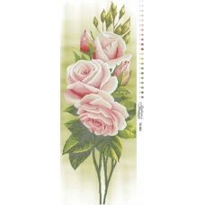 ТК-002 Свежие Розы. Схема для вышивки бисером. Барвиста Вишиванка