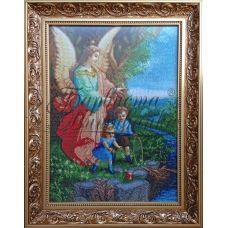 ТО-002 Ангел хранитель. Схема для вышивки бисером Барвиста Вишиванка