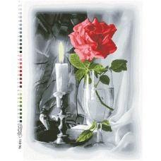 ТК-011 Свеча (красная). Схема для вышивки бисером Барвиста Вишиванка