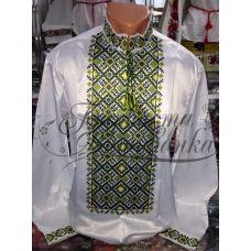 СЧ-013 Бисерная заготовка мужская сорочка. Барвиста Вишиванка