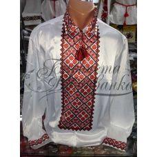 СЧ-014 Бисерная заготовка мужская сорочка. Барвиста Вишиванка