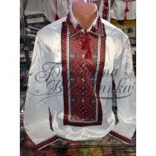 СЧ-015 Бисерная заготовка мужская сорочка. Барвиста Вишиванка