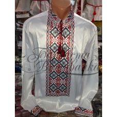 СЧ-018 Бисерная заготовка сорочка. Барвиста Вишиванка