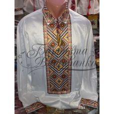 СЧ-020 Бисерная заготовка сорочка. Барвиста Вишиванка