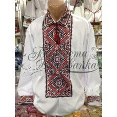СЧ-010 Бисерная заготовка сорочка. Барвиста Вишиванка