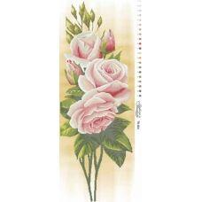 ТК-001 Нежные розы. Схема для вышивки бисером. Барвиста Вишиванка