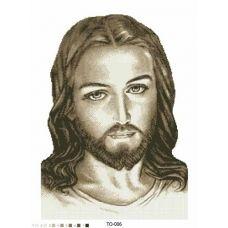 ТО-006 Иисус. Схема для вышивки бисером Барвиста Вишиванка