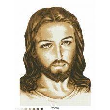 ТО-008 Иисус. Схема для вышивки бисером Барвиста Вишиванка