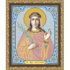 VIA-4016 Святая Мученица Екатерина. Схема для вышивки бисером. АртСоло