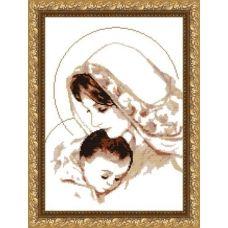 VKA-3004_A Дева Мария с младенцем. Схема для вышивки бисером. АртСоло