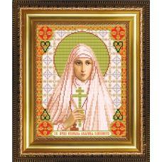 VIA-4052 Св.Мученица Великая Княгиня Елизавета. Схема для вышивки бисером. АртСоло