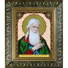 VIA-5015 Святой Преподобный Алезий (Алексей). Схема для вышивки бисером. АртСоло