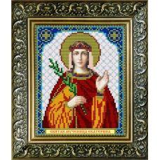 VIA-5016 Святая Мученица Екатерина. Схема для вышивки бисером. АртСоло