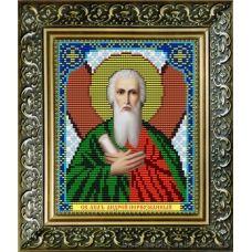 VIA-5018 Святой Апостол Андрей Первозванный. Схема для вышивки бисером. АртСоло