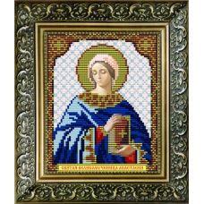 VIA-5021 Святая Великомученица Анастасия. Схема для вышивки бисером. АртСоло