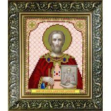 VIA-5022 Святой Великий князь Дмитрий Донской. Схема для вышивки бисером. АртСоло