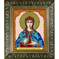 VIA-5023 Святая Великомученица Ирина. Схема для вышивки бисером. АртСоло
