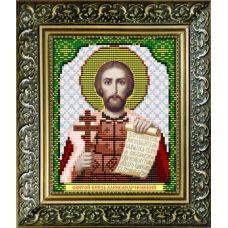 VIA-5026 Святой Князь Александр Невский. Схема для вышивки бисером. АртСоло