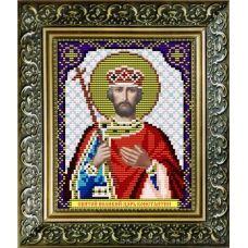 VIA-5027 Святой Великий Царь Константин. Схема для вышивки бисером. АртСоло