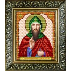 VIA-5033 Св.Преподобный Антоний. Схема для вышивки бисером. АртСоло