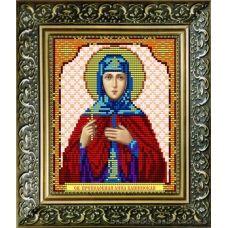 VIA-5035 Святая мученица Анна. Схема для вышивки бисером. АртСоло
