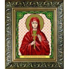 VIA-5036 Святая мученица Валентина. Схема для вышивки бисером. АртСоло