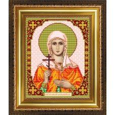 VIA-4066 Святая Емилия Каппадокийская. Схема для вышивки бисером. АртСоло