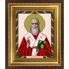 VIA-4073 Святой Дионисий (Денис). Схема для вышивки бисером. АртСоло