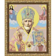 VIA-4005 Святой Николай Чудотворец. Схема для вышивки бисером. АртСоло