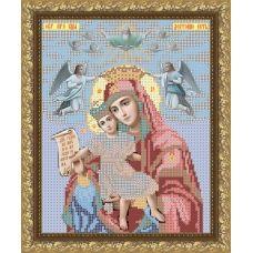 VIA-4006 Богородица Достойно есть. Схема для вышивки бисером. АртСоло