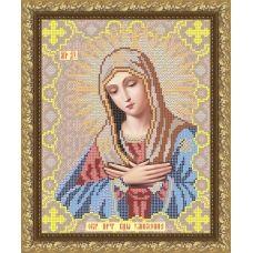 VIA-4007 Пресвятая Богородица Умиления. Схема для вышивки бисером. АртСоло