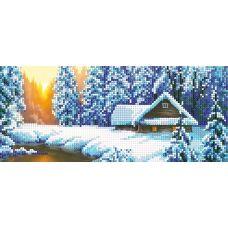 A-020 Зимний лес. Схема для вышивки бисером СвитАрт