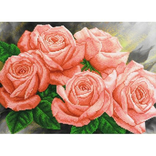A-033 (А3) Розы. Схема для вышивки бисером СвитАрт