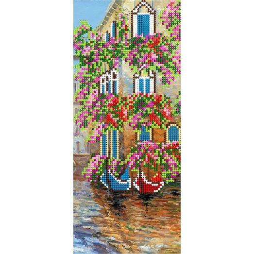 A-079(11*26) Город на воде. Схема для вышивки бисером СвитАрт