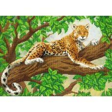 A-082 (А3) Леопард. Схема для вышивки бисером СвитАрт