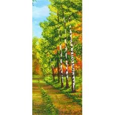A-142b Осенний лес. Схема для вышивки бисером СвитАрт