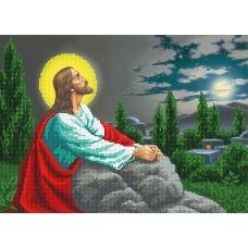 A-151 (А3) Иисус. Схема для вышивки бисером СвитАрт