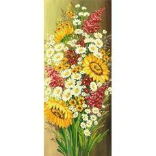 A-173 (25*55) Цветы. Схема для вышивки бисером СвитАрт