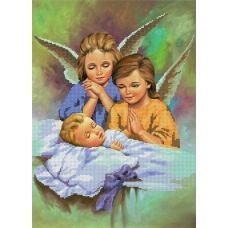 A-224 Ангелы. Схема для вышивки бисером СвитАрт