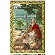 А2-16-010 Иисус. Канва для вышивки нитками Вышиванка