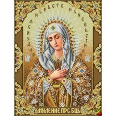 ИК2-0308 Икона Божией Матери Умиление. Схема для вышивки бисером Феникс