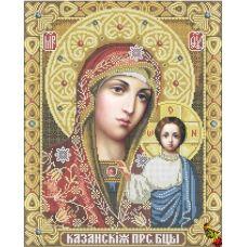 ИК2-0301 Казанская икона Божией Матери. Схема для вышивки бисером Феникс