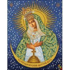 ИК2-0305 Остробрамская икона Божией Матери. Схема для вышивки бисером Феникс
