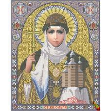 ИК2-0306 Святая равноапостольная княгиня Ольга. Схема для вышивки бисером Феникс