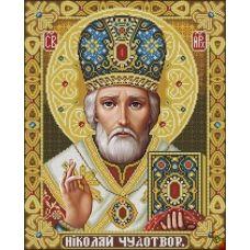 ИК2-0303 Святой Николай Чудотворец. Схема для вышивки бисером Феникс