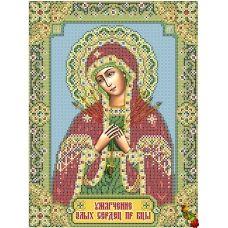 ИК3-0278 Богородица Умягчение злых сердец. Схема для вышивки бисером Феникс