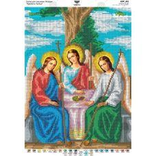 А3Р_211 Пресвятая Троица. Схема для вышивки бисером TM Virena