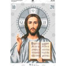 А3Р_255 Иисус Христос. Схема для вышивки бисером TM Virena