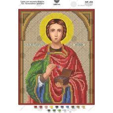 А4Р_434 Св. Пантелеймон целитель. Схема для вышивки бисером TM Virena