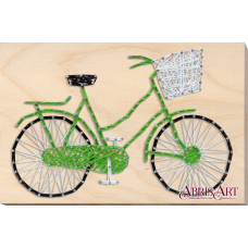 АВС-011 Велосипед. Набор стринг-арт ТМ Абрис Арт